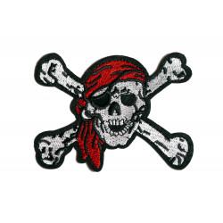 """Patch """"Piratenschädel Skull..."""