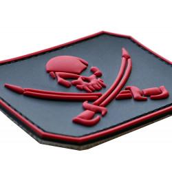 "PVC 3D Patch ""Pirat"" Rot..."