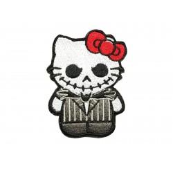 Patch Kitty Rocker Punk -...