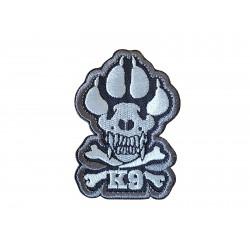 Patch K9 Skull & Bones...