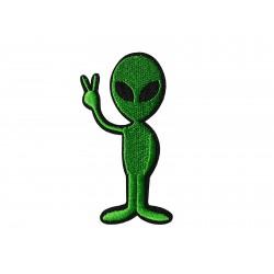 "Patch ""Alien grün"""
